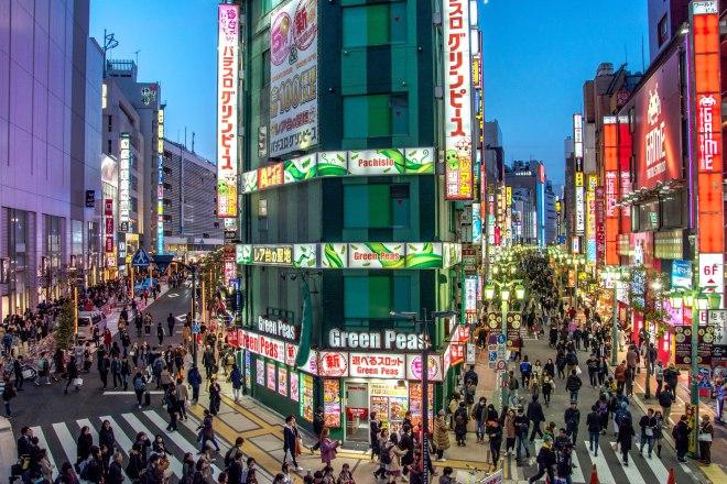 Crtice iz Japana, Shinjuku